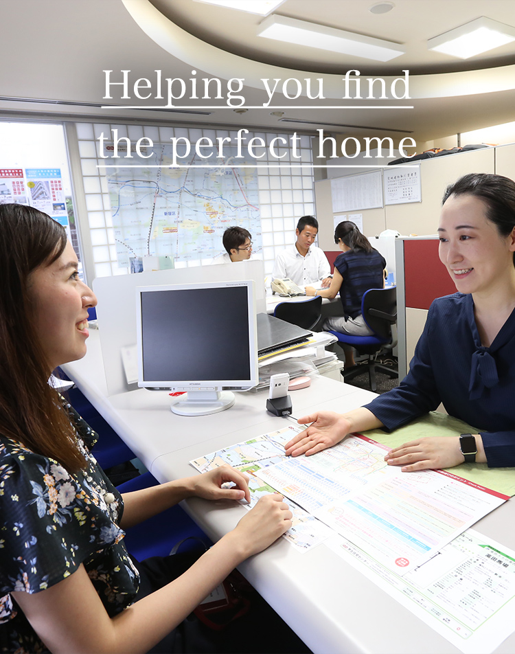Helping you find the perfect home