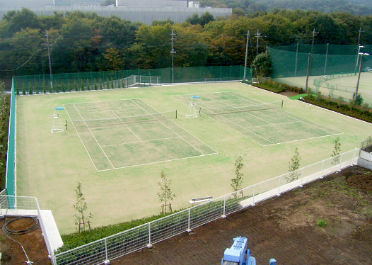 Tennis Court in Tokorozawa Campus