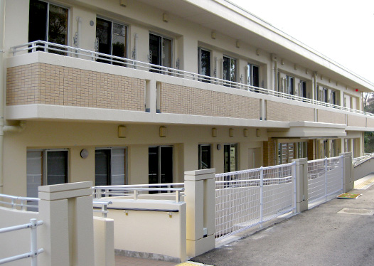 Dormitory for students of Setsuryo Junior & Senior High School